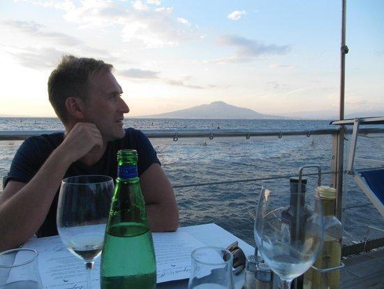 Ristorante Bagni Delfino: The view