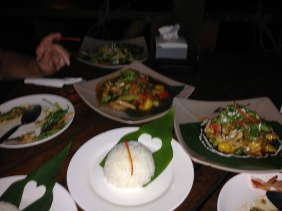 Saffron on the Sea: Thais diner
