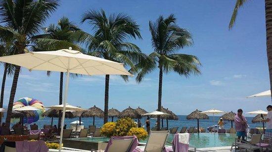 Secrets Vallarta Bay Resort & Spa: View from sunbed