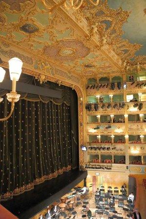 Teatro La Fenice: ボックス席からの舞台の眺め
