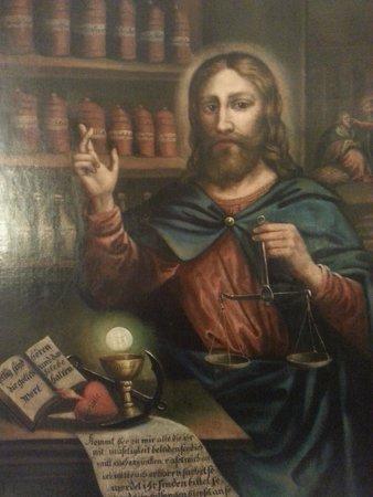 Deutsches Apotheken Museum : Jesus as a healer