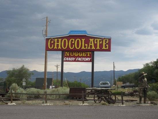 Chocolate Nuggett Candy Factory, Mound House, Nevada (between Reno and Carson City)