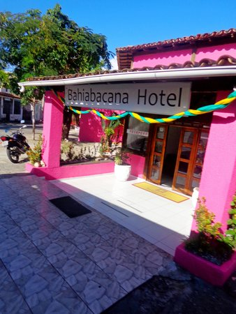 Bahiabacana Hotel: fachada
