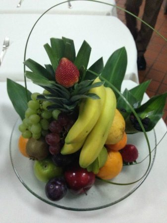 Four Seasons Hotel Riyadh at Kingdom Centre : Fruit Amenity