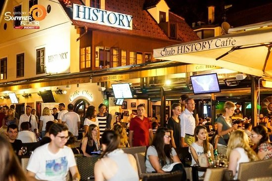 History village caffe bar food club live music picture for Food bar zagreb