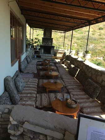 The Hotel Patara Viewpoint: Ottoman terrace
