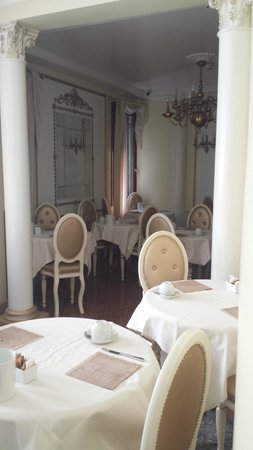 Arlecchino Hotel : Breakfast seating