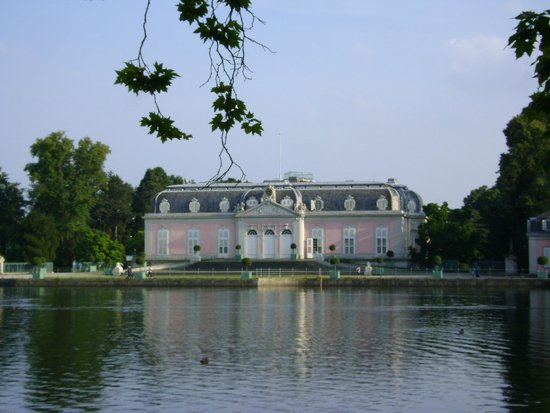 Schloss Benrath, Düsseldorf, Alemania.