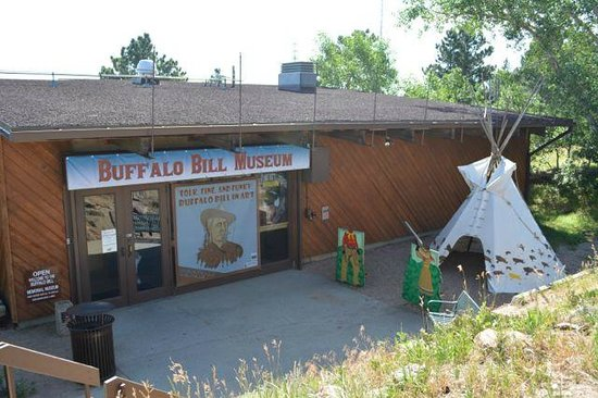 Buffalo Bill Grave and Museum: Buffalo Bill Museum entrance