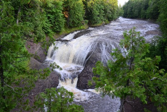 Bessemer, MI: Gorge Falls along the Black River Scenic Byway