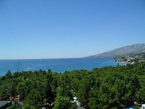 Neilson Alana Beachclub : zöld erdő, kék tenger