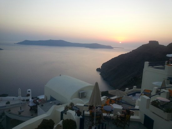 Santorini View: Balcony View