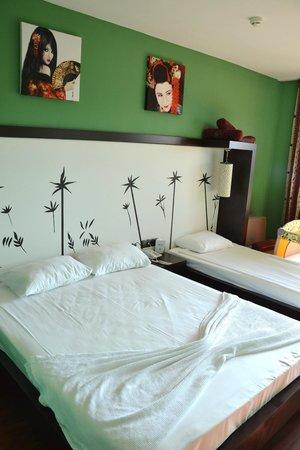 Siam Elegance Resort & Spa: notre chambre (sans mezzanine)