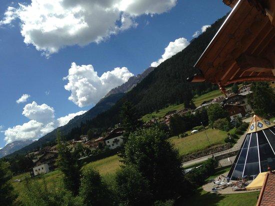 Hotel Rene : Panorama dalla camera