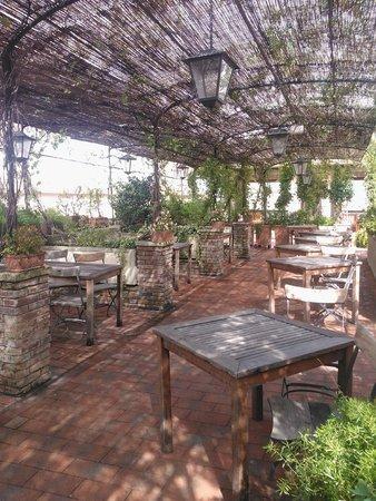 Grand Hotel Baglioni Firenze : Rooftop Bar/Restarant