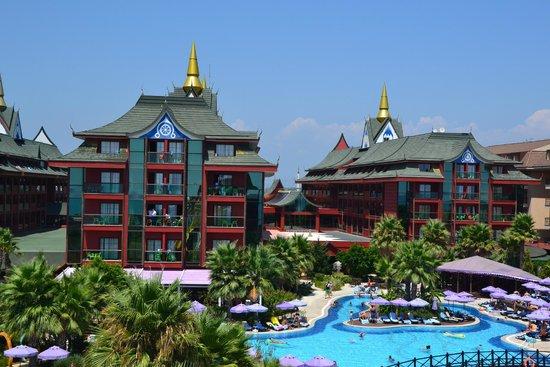 Siam Elegance Resort & Spa : les bâtiments principaux