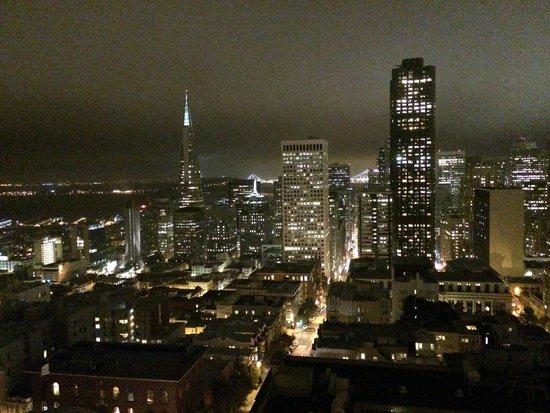 InterContinental Mark Hopkins San Francisco : Night view