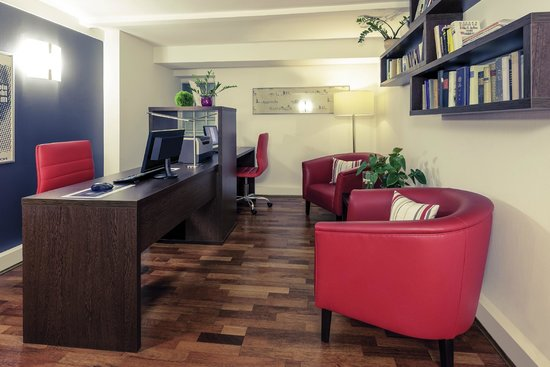 Mercure Hotel Kaiserhof Frankfurt City Center: Businesslounge
