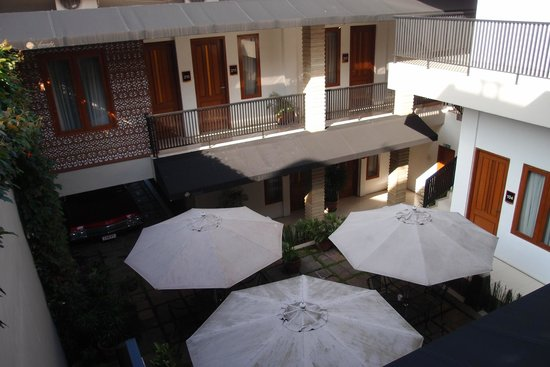 Ariandri Boutique Guesthouse: View from 1st floor