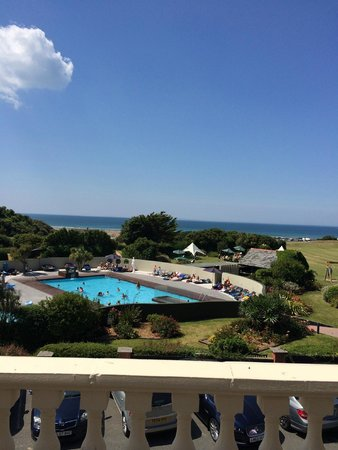 The Woolacombe Bay Hotel: View from balcony