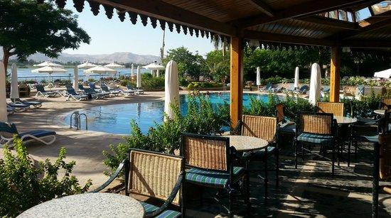 Steigenberger Nile Palace Luxor: Pool Bar