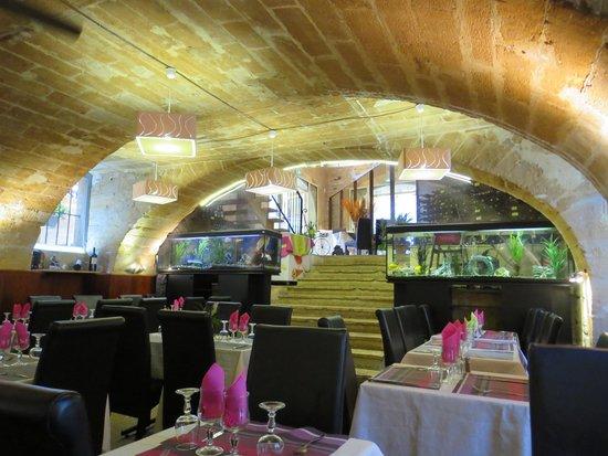 La Taverne du Croquant : Salle intérieure