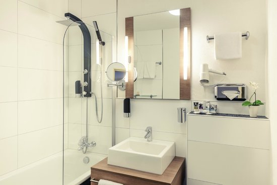 Mercure Hotel Kaiserhof Frankfurt City Center: Badezimmer Kategorie Standard