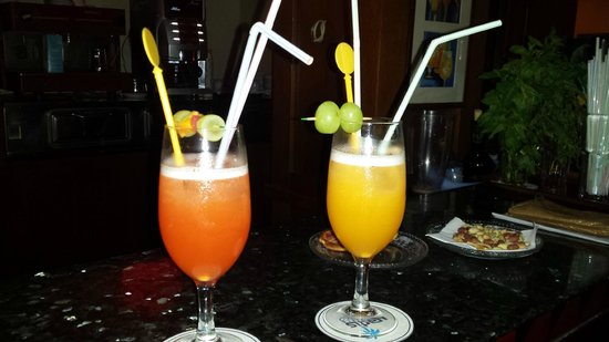 Yadis Djerba Golf Thalasso & Spa : Cocktail serali