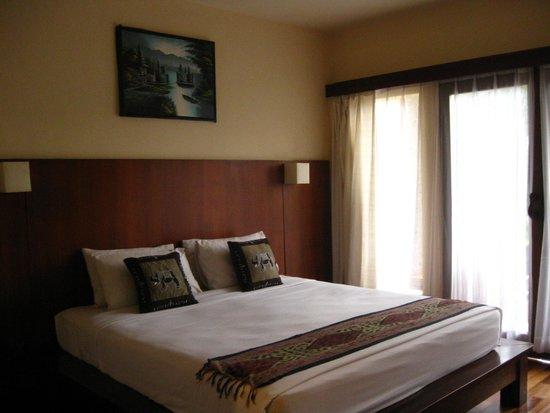 Biyukukung Suites and Spa: Bedroom at Pirkutut