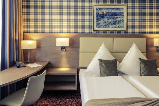 Mercure Hotel Kaiserhof Frankfurt City Center: Doppelzimmer Ansicht Kategorie Standard