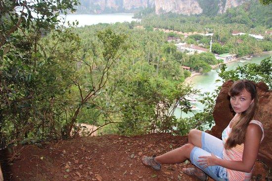 Railay Beach Viewpoint: Вид на Рейли