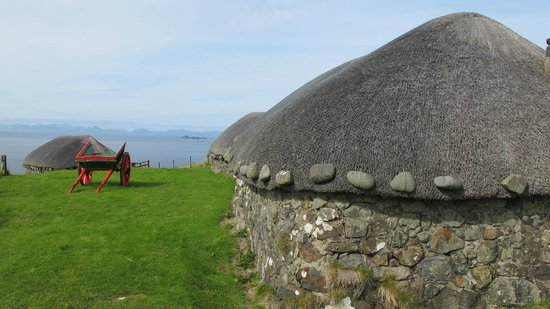 Skye Museum of Island Life : Looking across to the Outer Hebrides