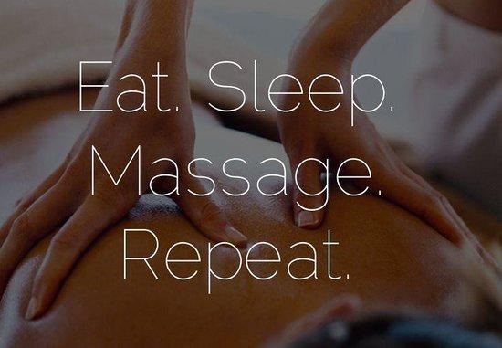 Deirdre Scott-Rogerson Riverstone Farm Retreat: Eat Sleep Massage Repeat - Good advice!