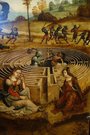 Musée du Petit Palais : Thiseas killing the Minotaur