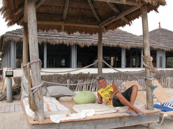 Yadis Djerba Golf Thalasso & Spa : Relax in spiaggia
