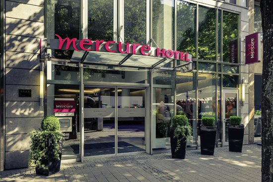 Mercure Hotel Kaiserhof Frankfurt City Center: Außenansicht