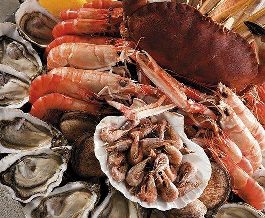 Amarine Le Pontet: Les fruits de mer très frais