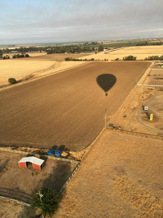Balloons Above the Valley: Our shadow