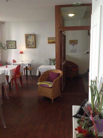Hotel de France : Salle du petit déjeuner
