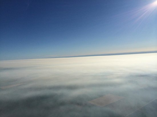 Balloons Above the Valley: 2000 ft--above the clouds.  Breath taking!!