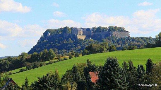Hotel Rathener Hof: Festung Königstein