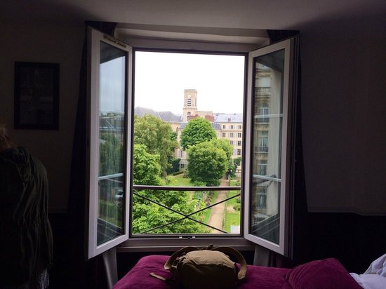 Hotel Observatoire Luxembourg: View from room