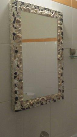 Villa Mozart y Macondo: Lindo detalle del espejo