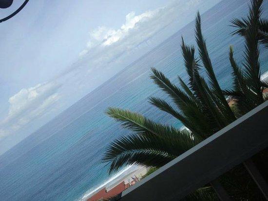 Hotel Terrazzo Sul Mare: Vista dalla sala ristorante