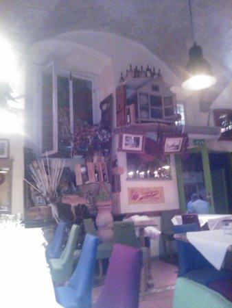 Osteria delle Belle Donne: Interior