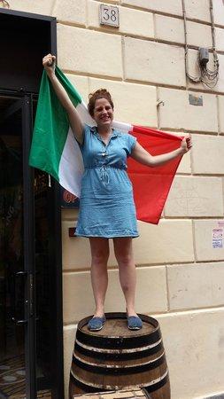 Angrypig Birretta e Porchetta: Miss Liberty from New York