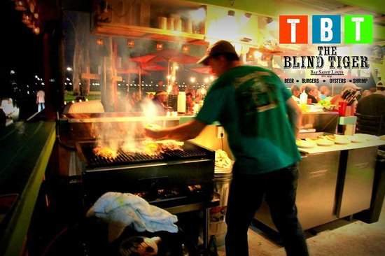 Fresh made hamburgers at The Blind Tiger - Picture of The ...