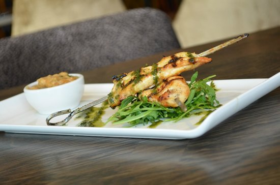 Radstone Hotel: Chicken Skewers