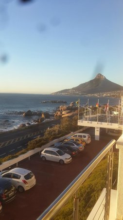 The Twelve Apostles Hotel and Spa: View from balcony