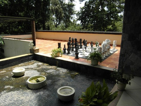 The Windflower Resort and Spa, Coorg: Near the reception